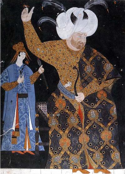 nakkaş nigari II. Selim