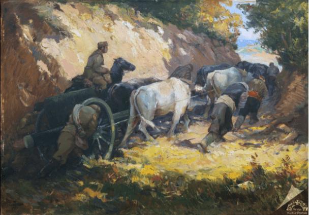 Sami Yetik, Topçular, 1926