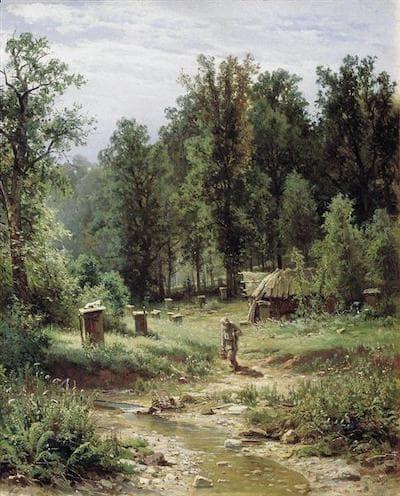 İvan İvanoviç Şişkin Ormandaki Arı Kovanları