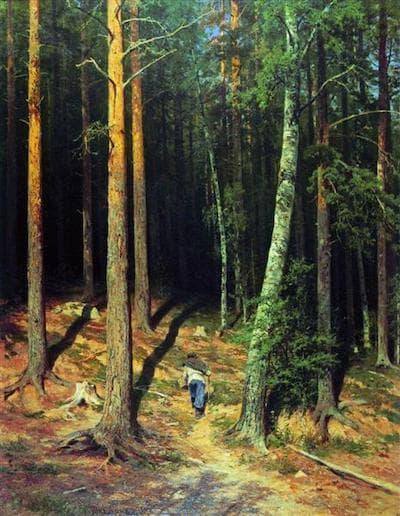 İvan İvanoviç Şişkin Çam Ormanı