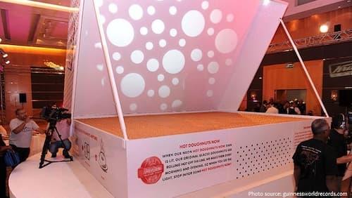dünyanın en büyük donut kutusu