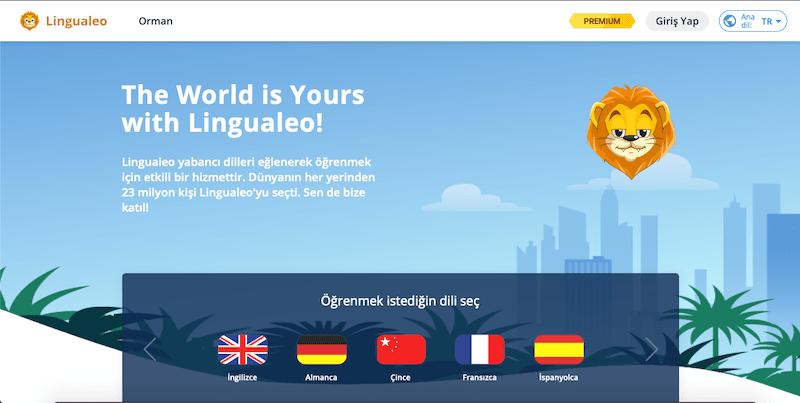 lingualeo ücretsiz yabancı dil öğrenme uygulaması