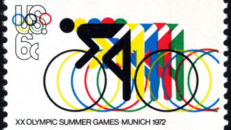 1972 münih olimpiyatları pul