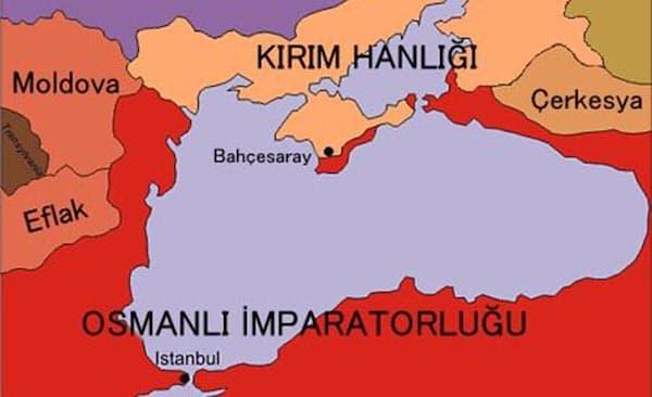 kırım hanlığı ve osmanlı imparatorluğu