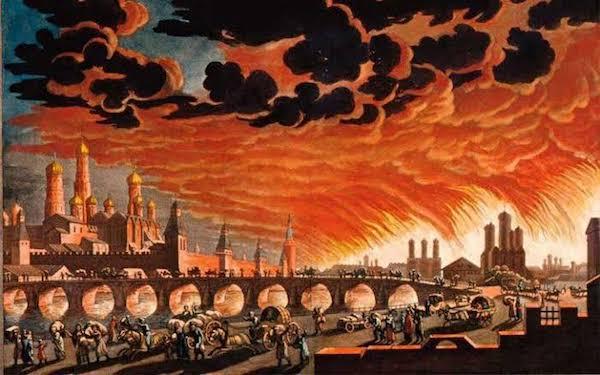moskova yangını